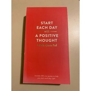 BRAND NEW Pink Daily Inspirational Quote Pad